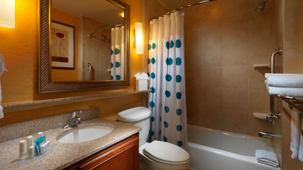 The Woodlands Hotel Bathroom