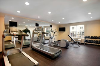 I-10 Houston TX hotel fitness