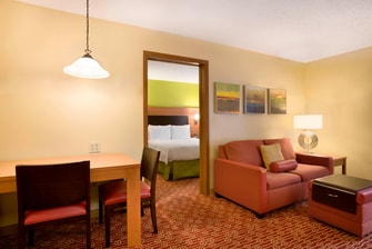 West Houston TX hotel suite
