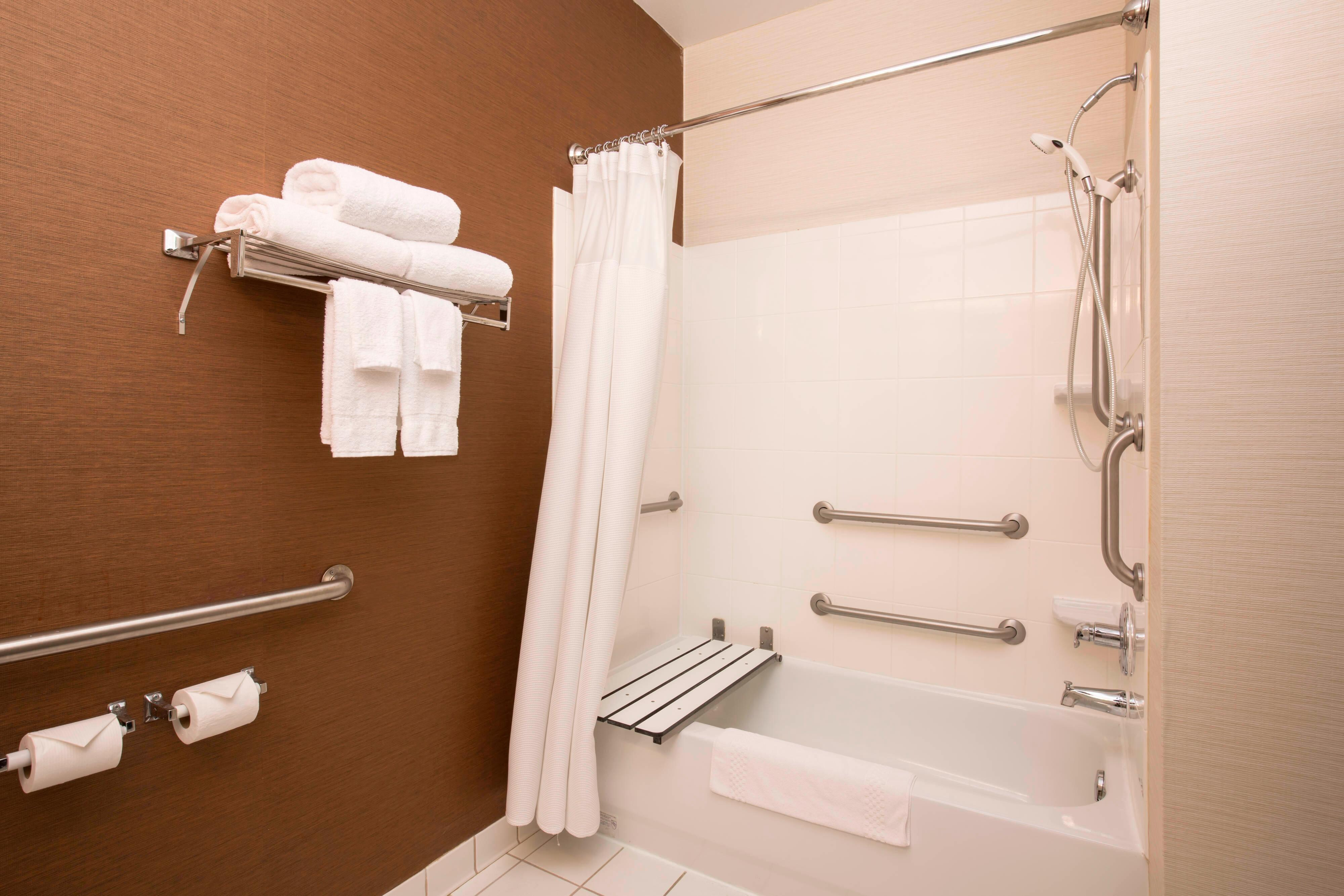 Houston Texas Hotel Accessible Bathroom