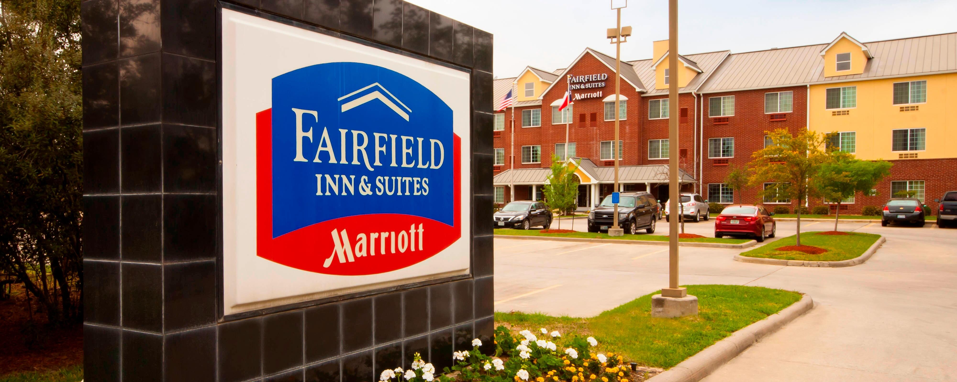 Außenansicht des Houston Woodlands Fairfield Hotels