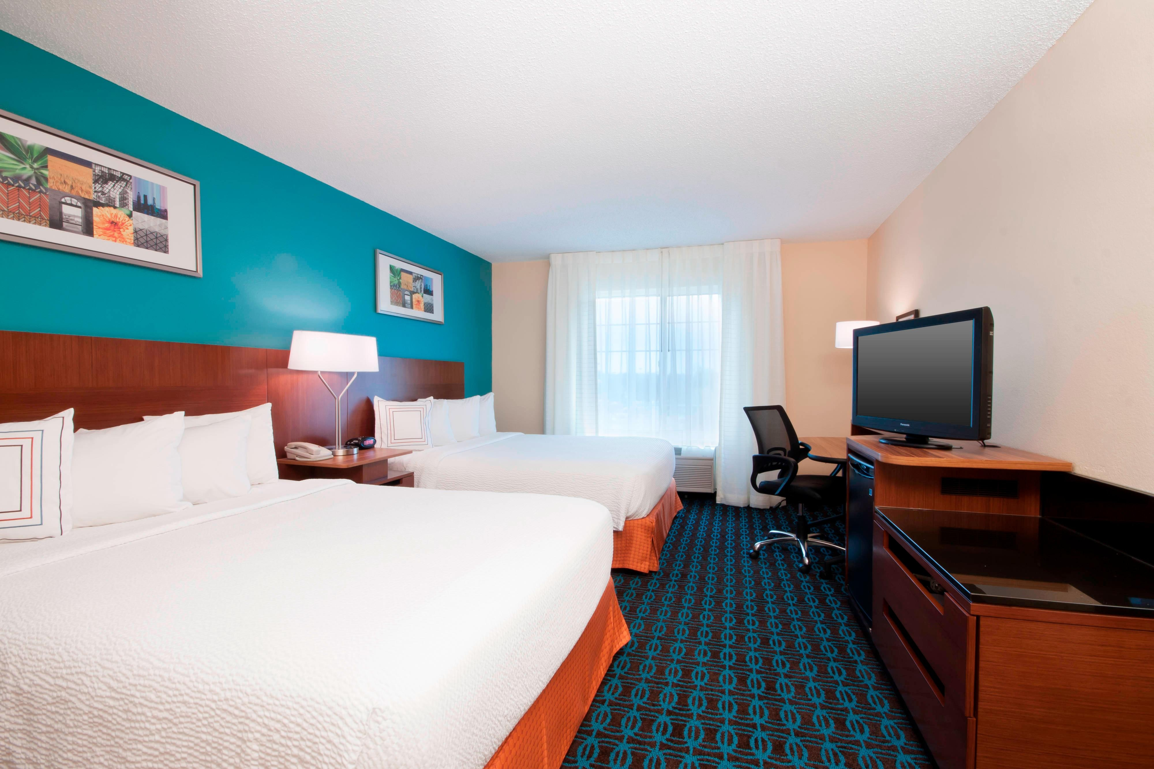 Houston Woodlands Hotel Two Queens