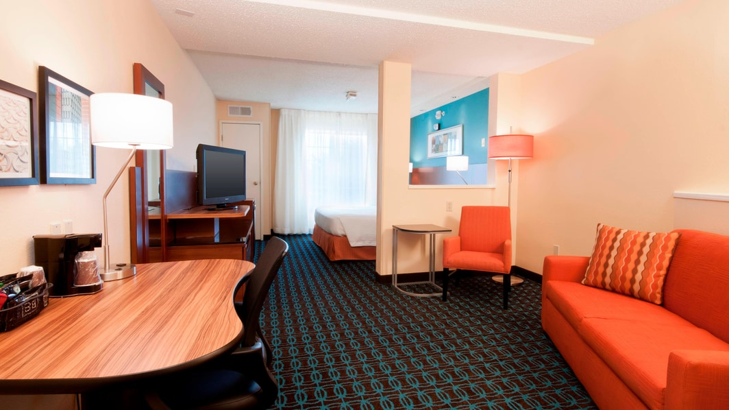 Suite King del hotel en Woodlands, Houston