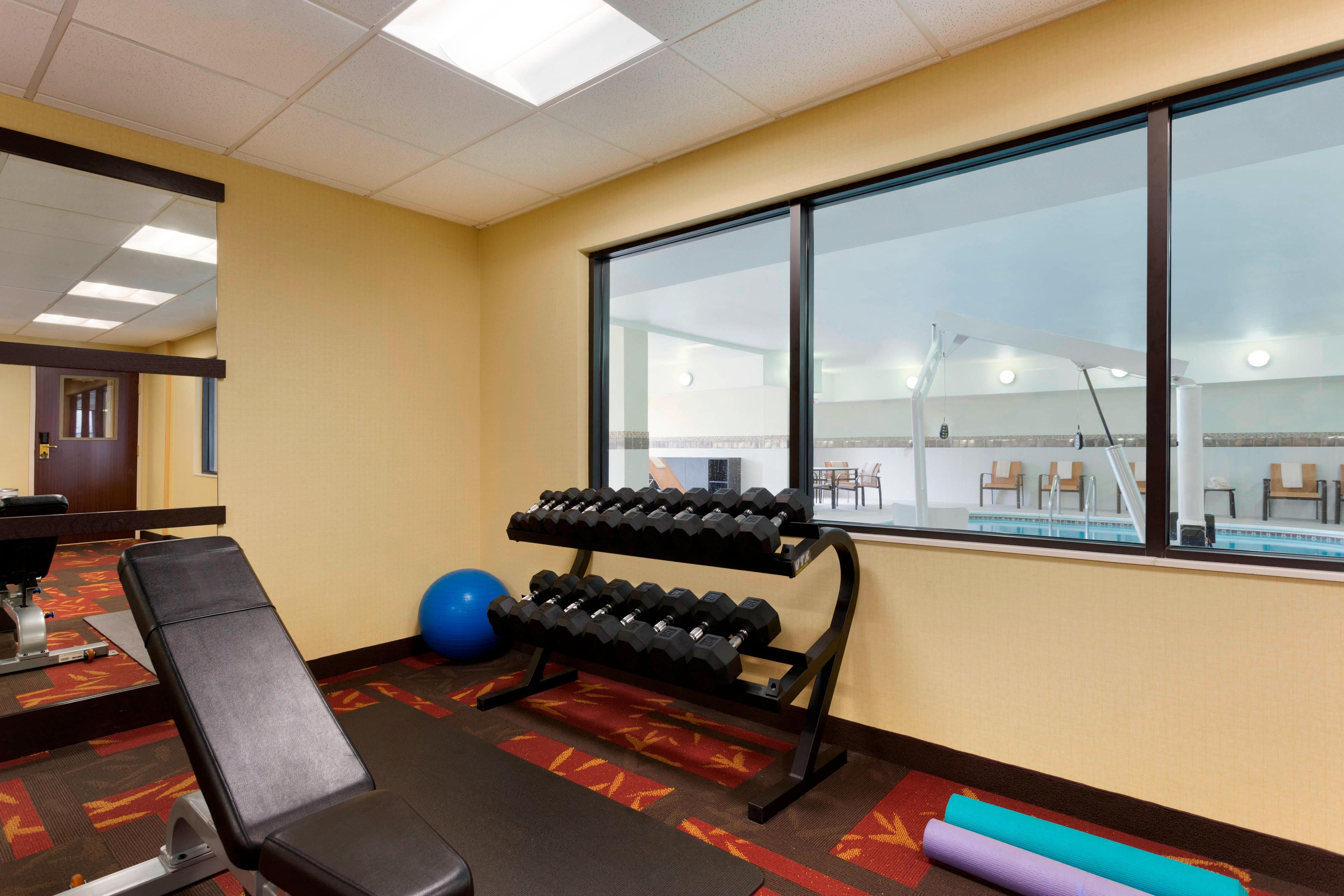 The Woodlands, TX Hotel Fitness Center
