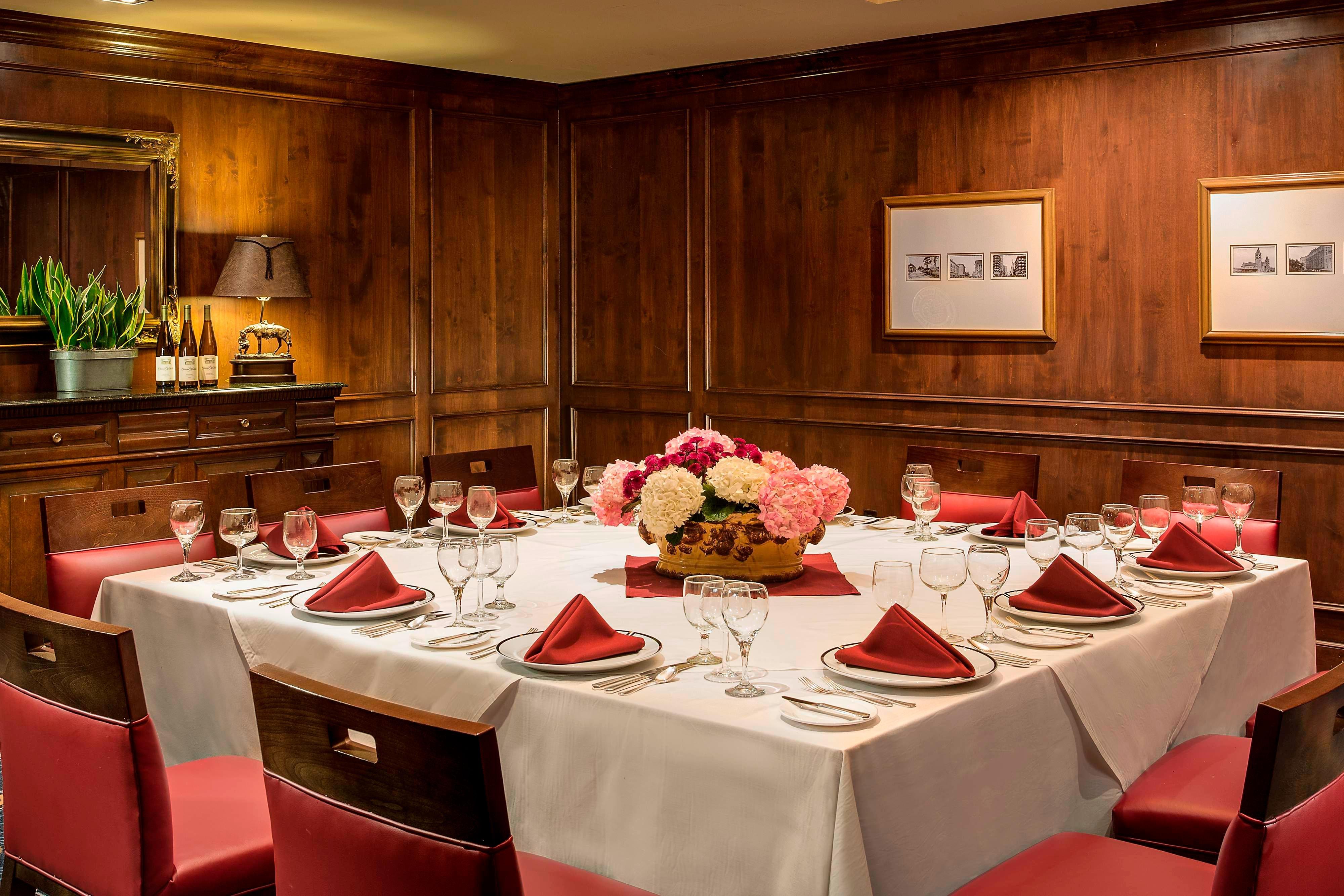 Comedor privado del hotel en Westchase