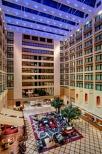 Houston Westchase Hotel Atrium