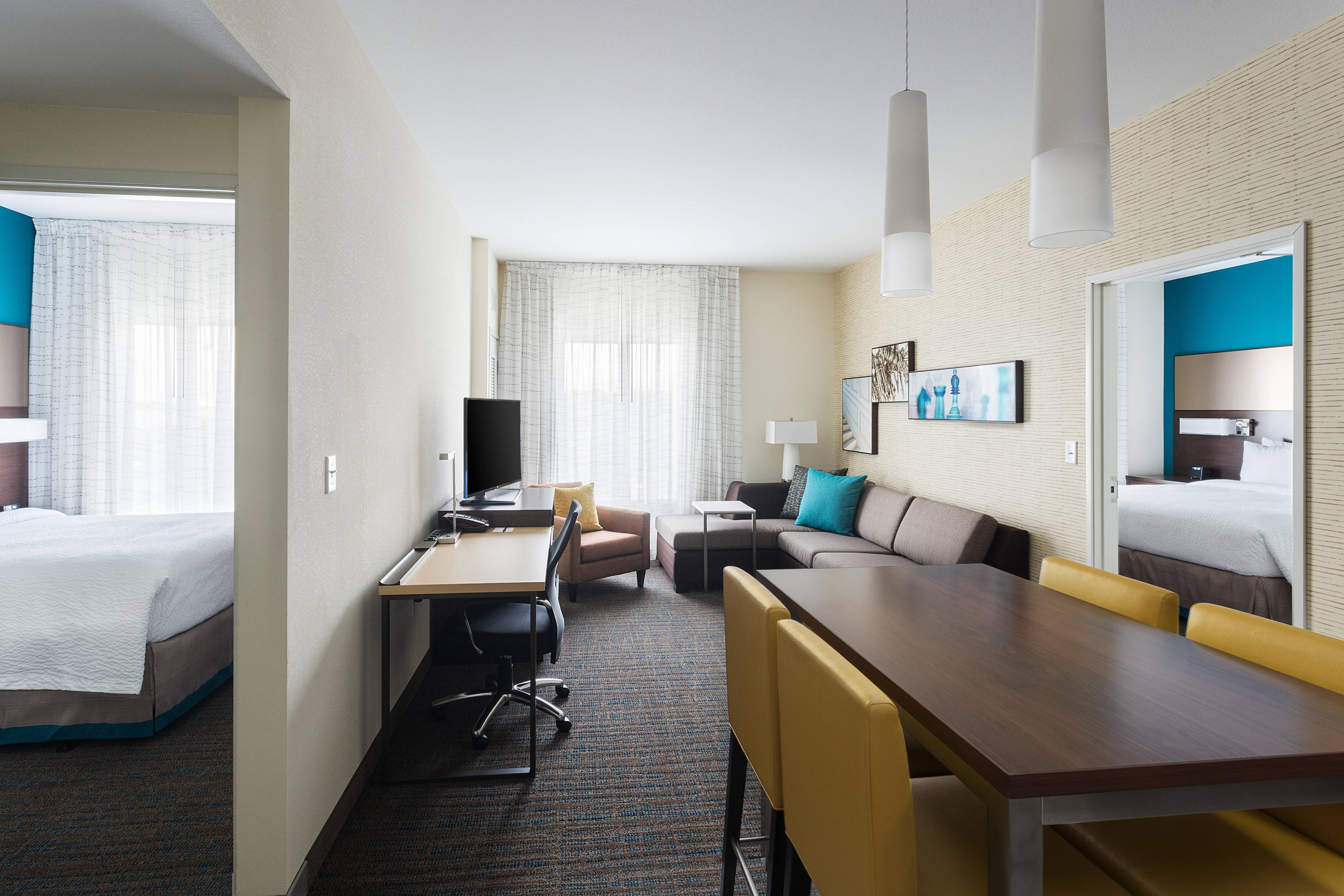 Hotel rooms amenities residence inn houston west - Two bedroom suites in houston tx ...