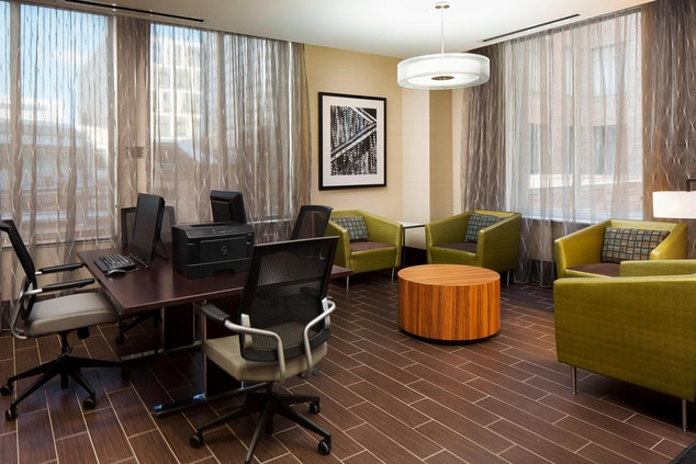 Downtown Houston Hotel Business Center