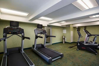 Downtown Houston Hotel Gym