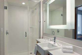 Northwest Houston Hotel Guest Bathroom