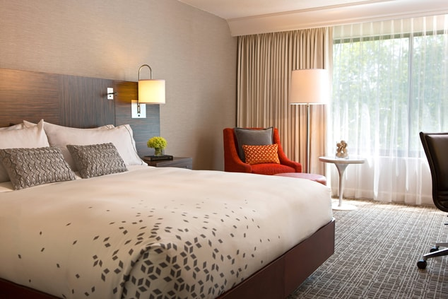 Westchester NY King guest room