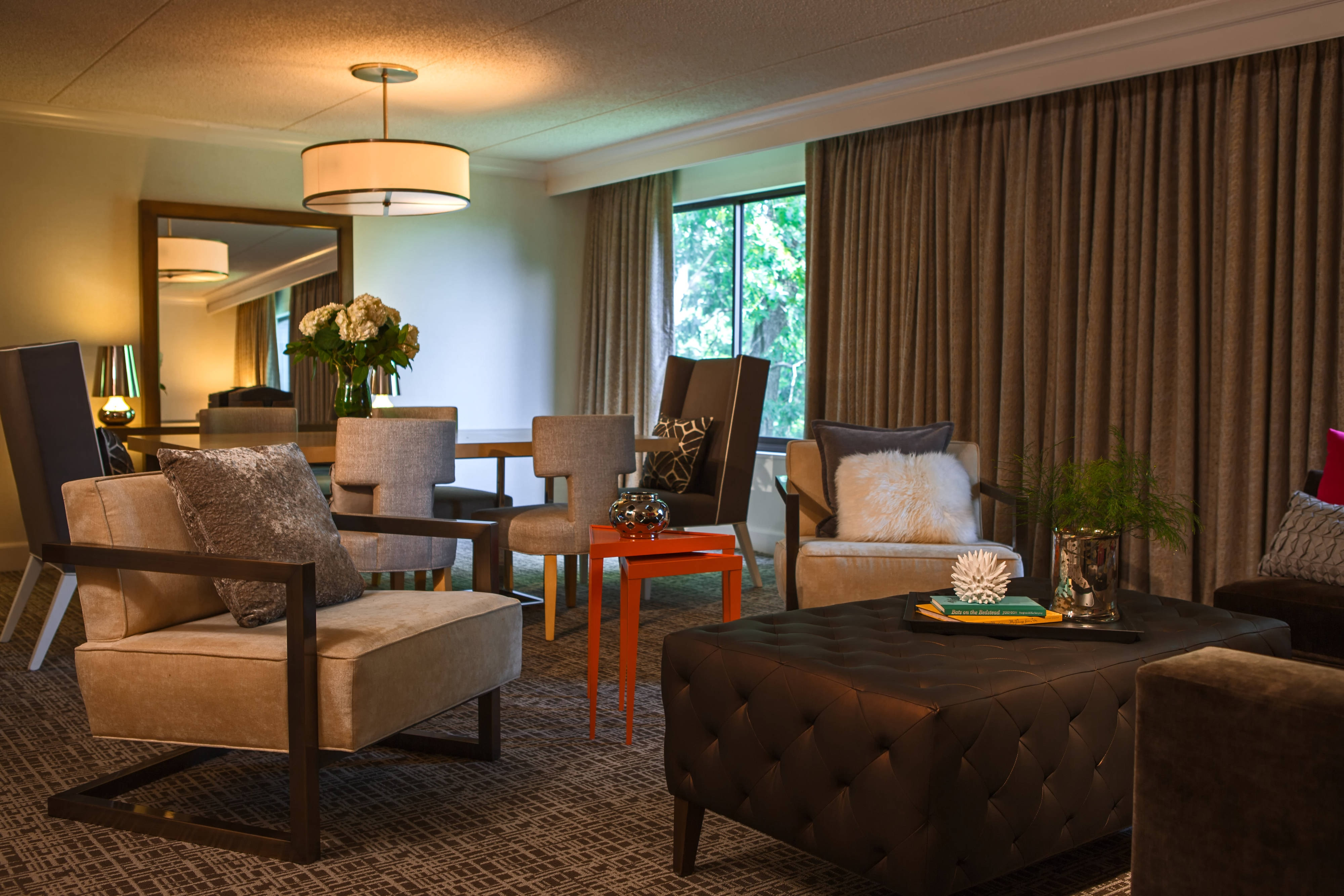 Westchester Presidential Suite Living Room