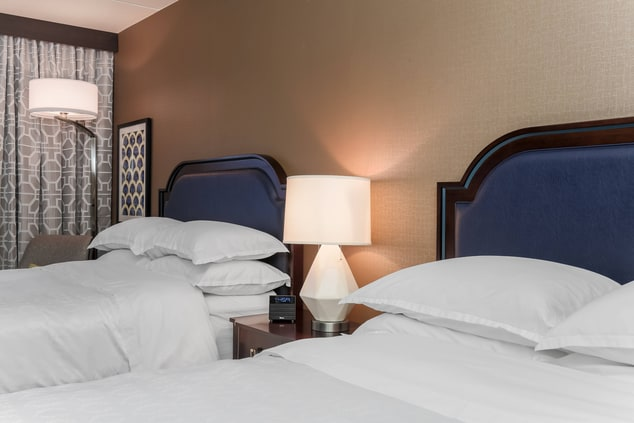 Double/Double Guest Room Beds