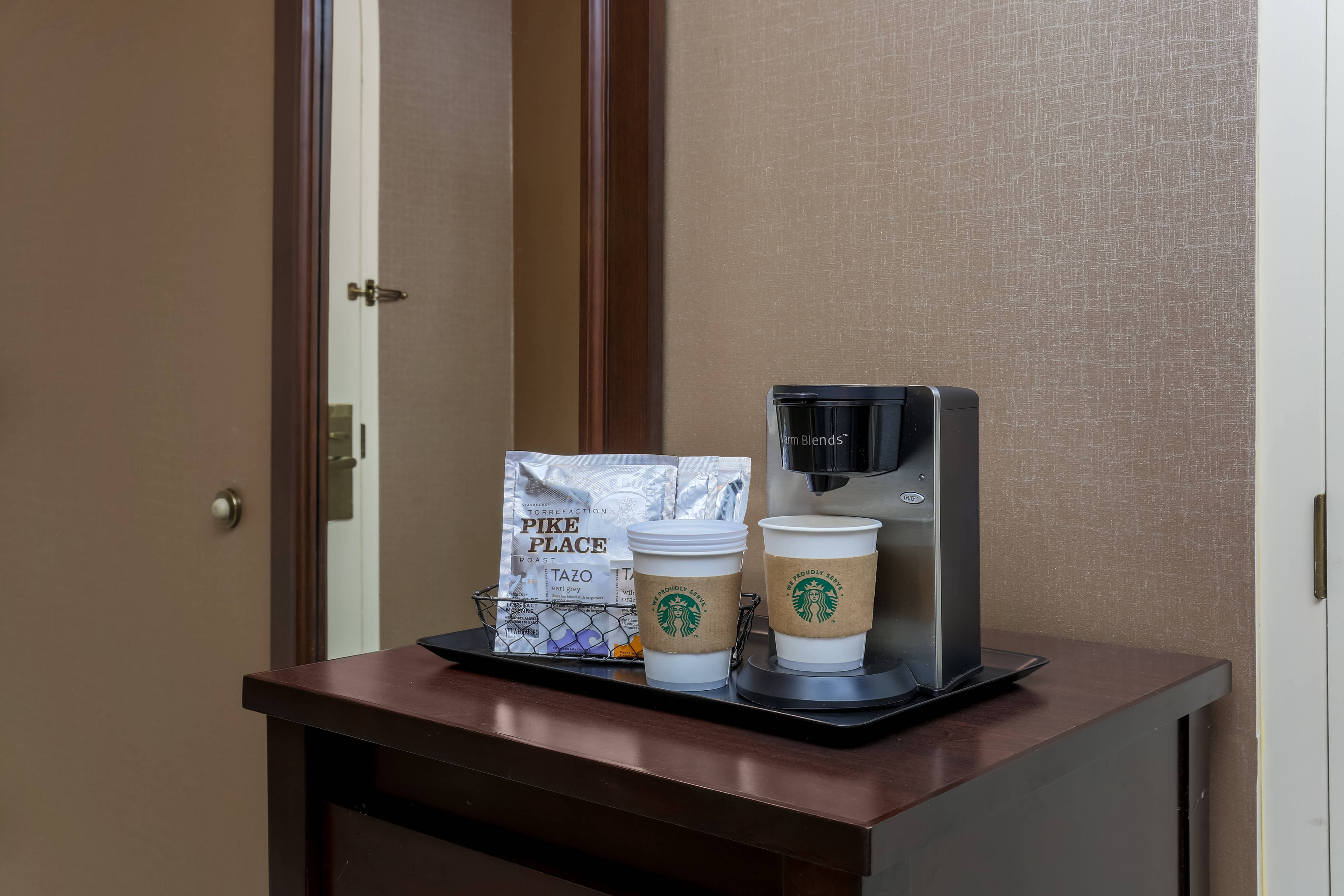 Guest Room Coffee Station