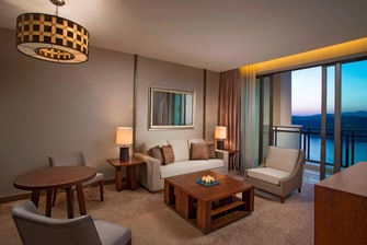 Deluxe Executive Suite - Living Room