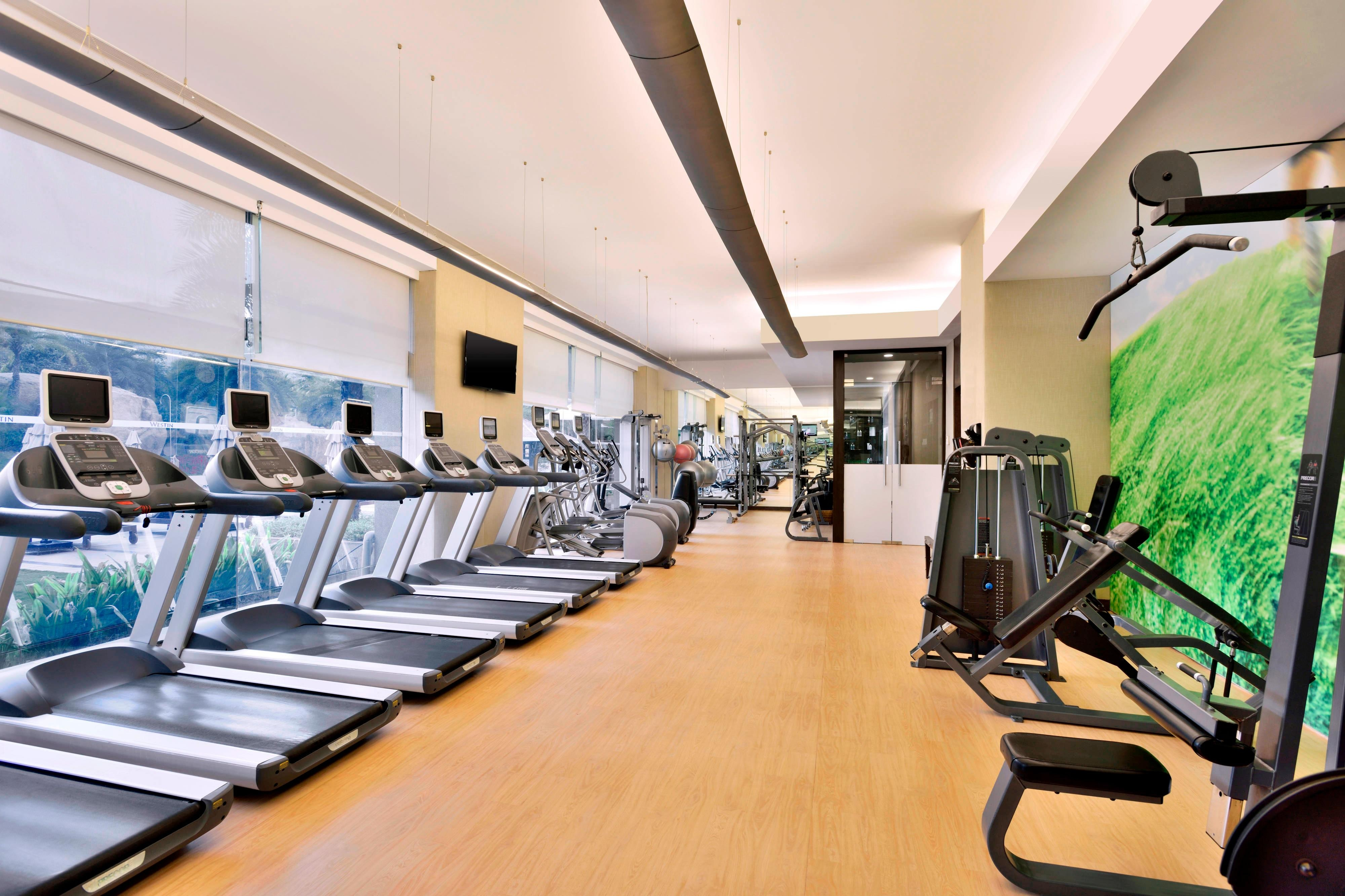The Westin Hyderabad Fitness Center