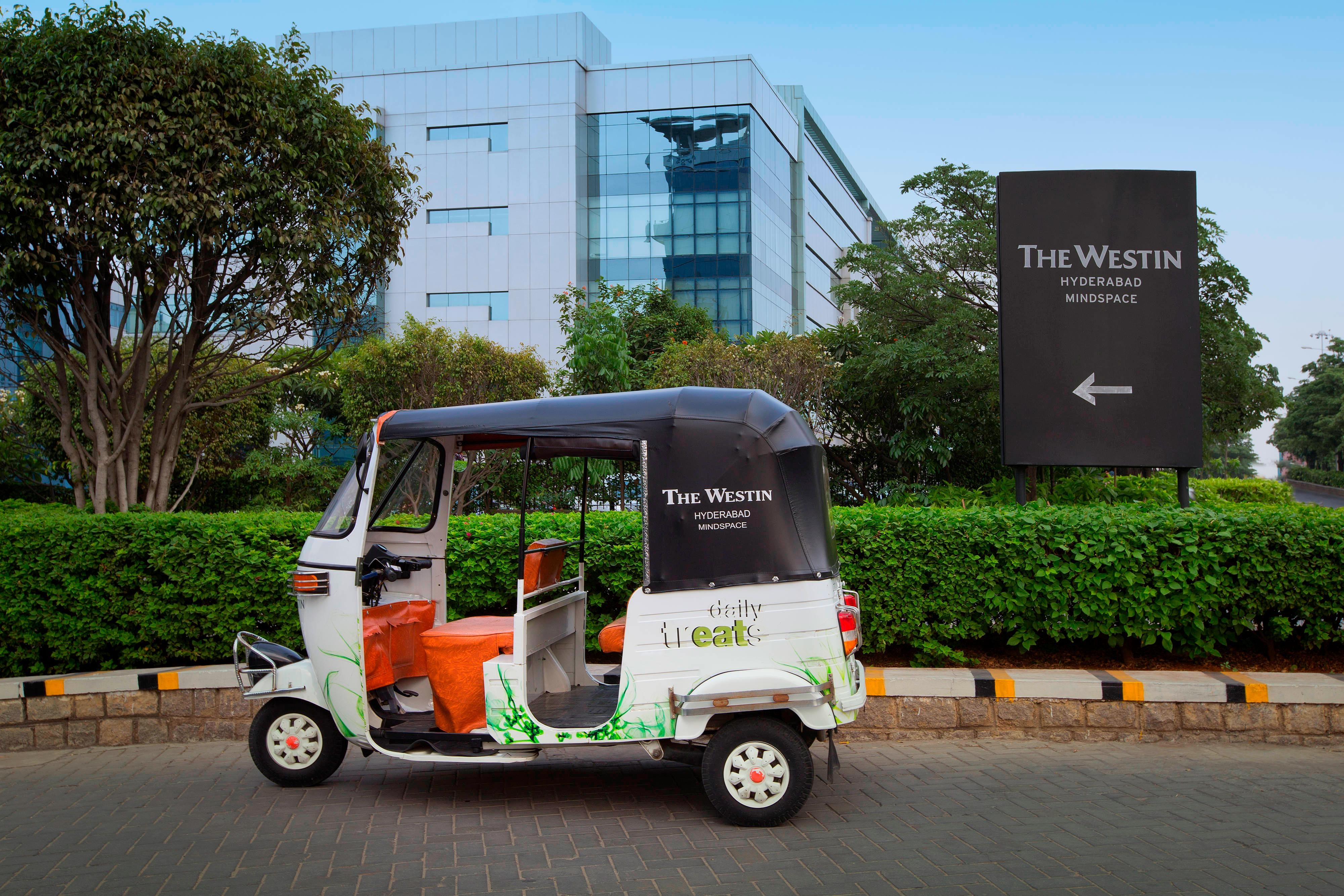Tuk Tuk at The Westin Hyderabad