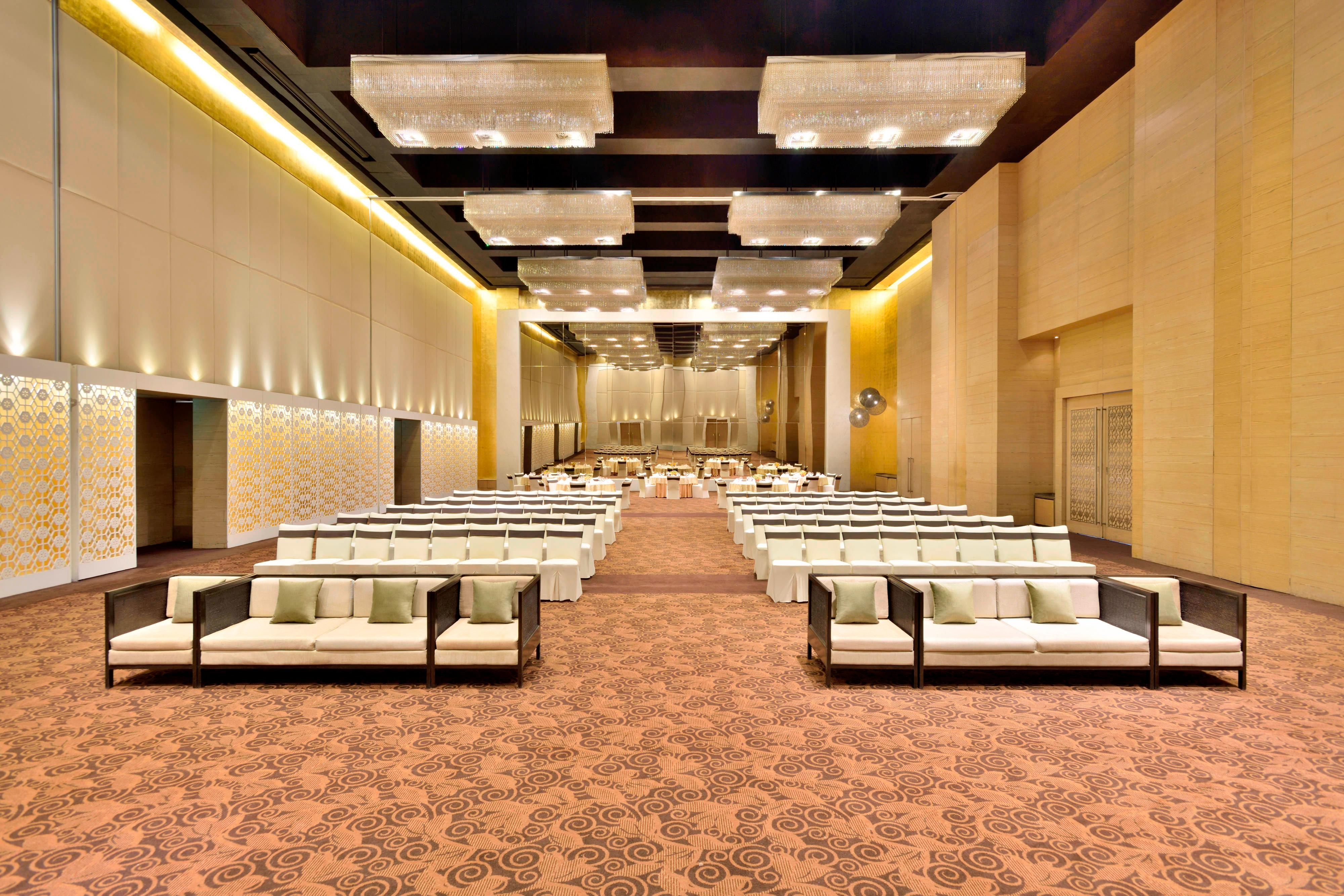 The Westin Ballroom Theatre-Style Meeting