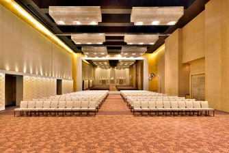 The Westin Hyderabad Ballroom Theatre-Style Meeting