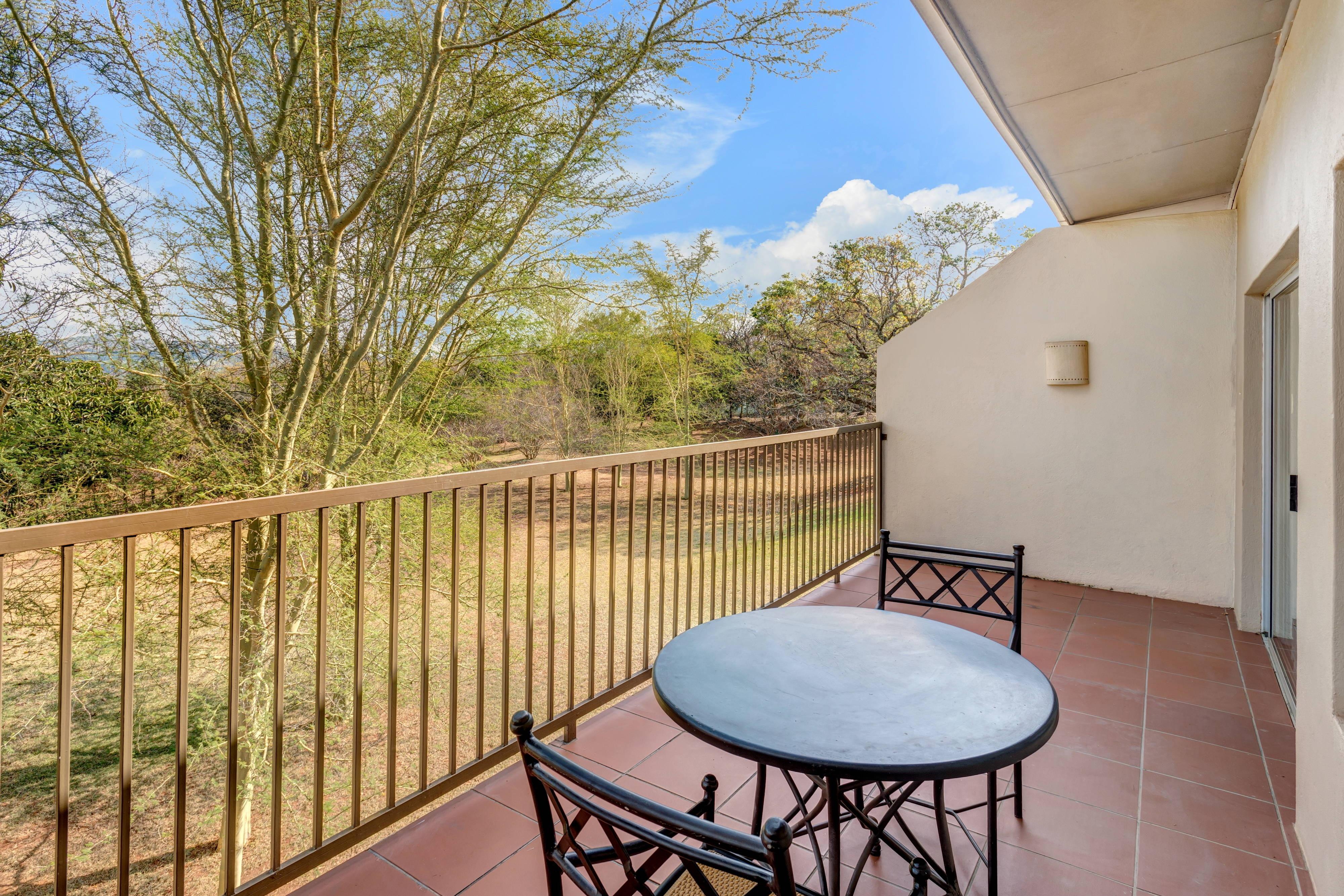 Luxury Suite Balcony