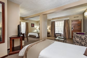 Protea Hotel Hazyview Family Guest Room