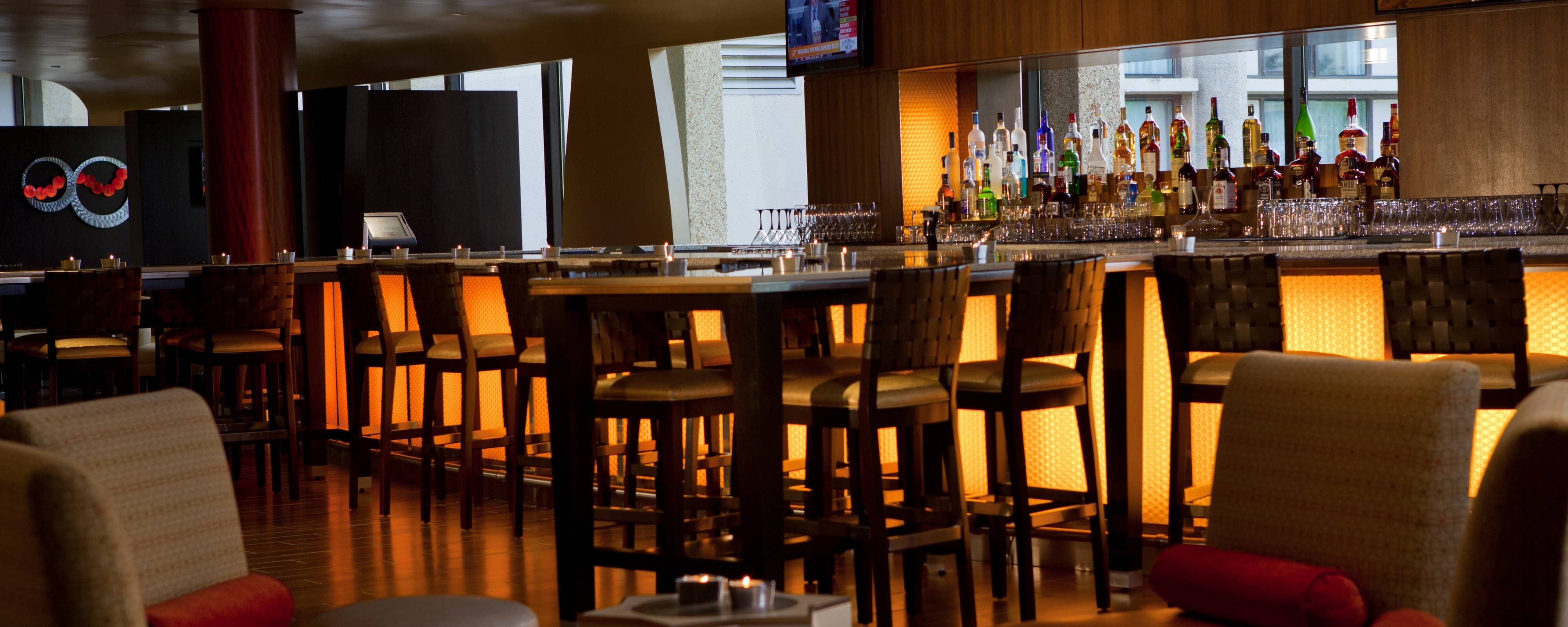 Bar del lobby del Washington Dulles Marriott