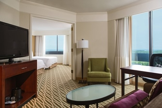 Dulles Marriott Suites - Double/Double One-Bedroom Suite
