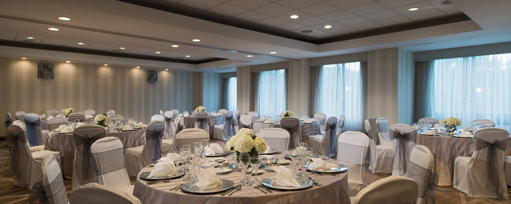 Dulles Marriott Suites Wedding Reception