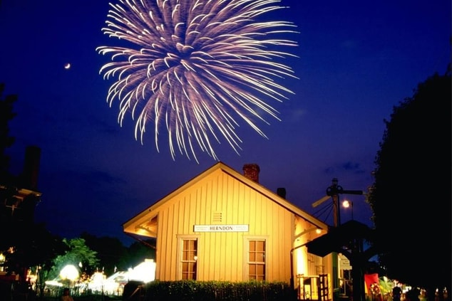 Town of Herndon Independence Day Fireworks