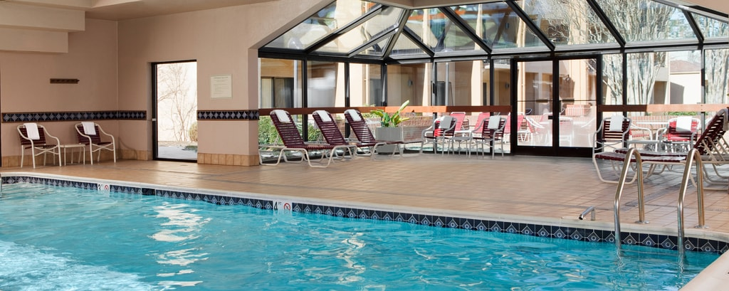 Herndon hotel with pool and fitness center courtyard - Tully swimming pool opening hours ...