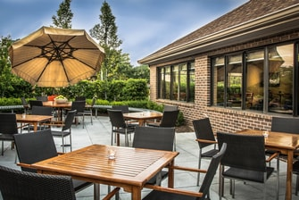 Herndon Residence Inn Patio Area