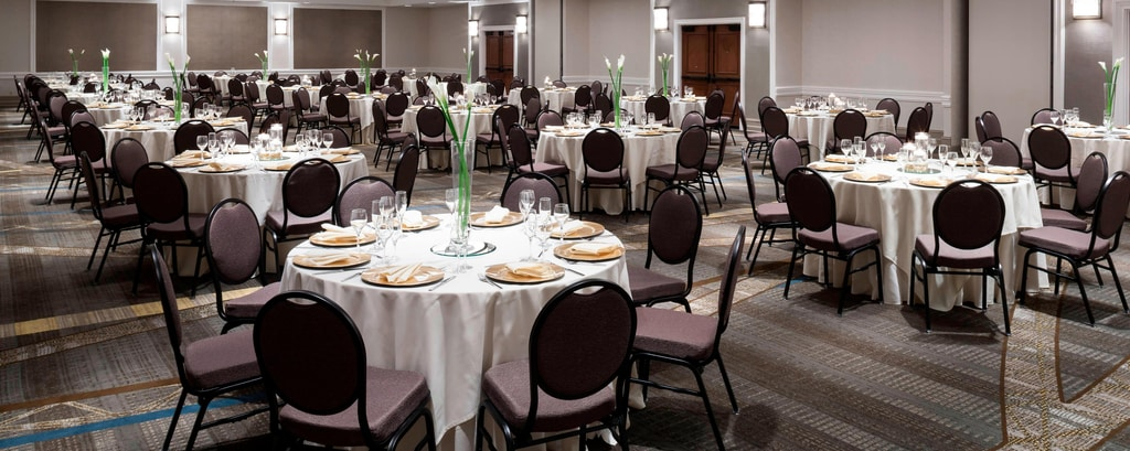 Wedding And Banquet Halls In Northern Va Fairfax Marriott At Fair Oaks