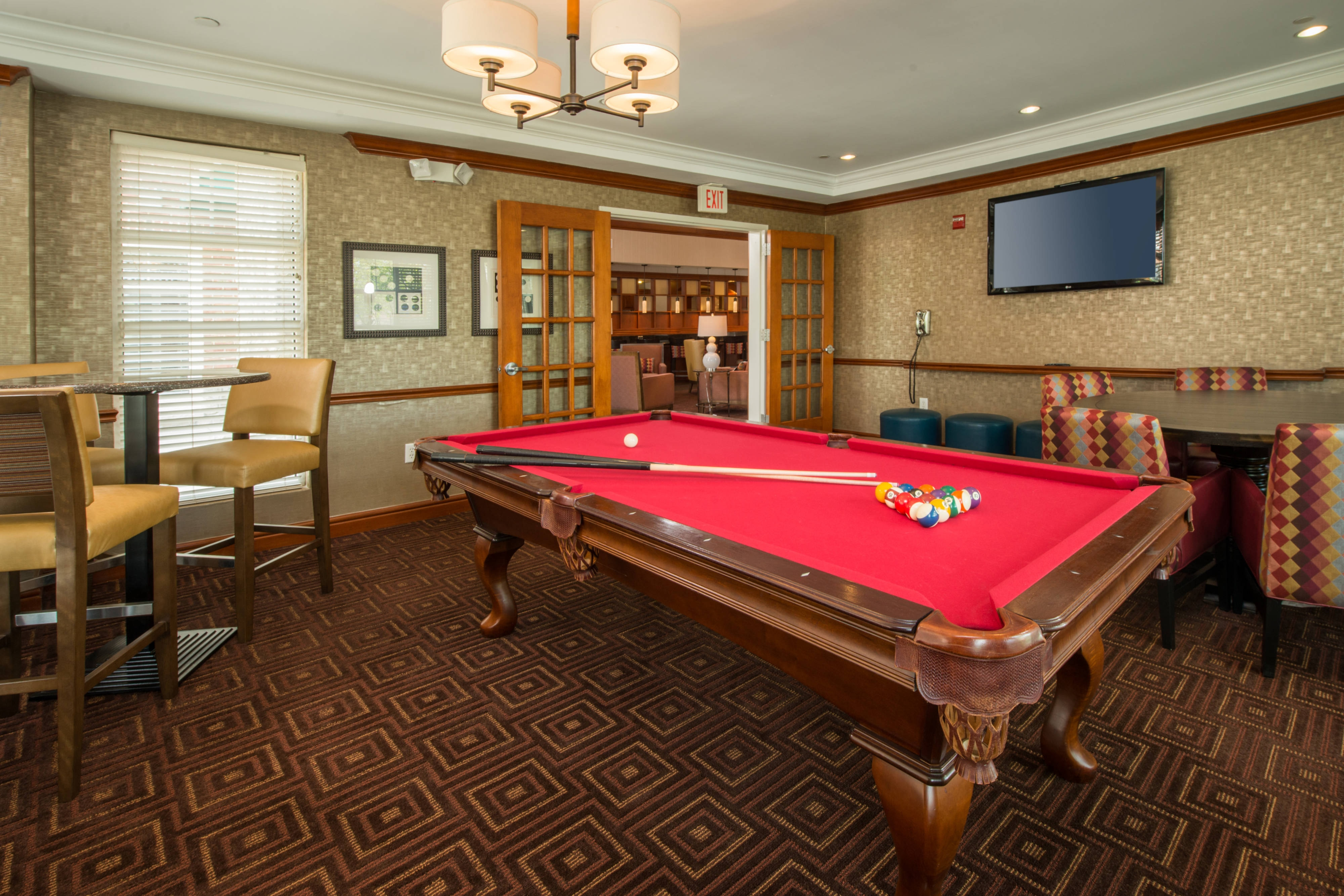 Dulles Airport Hotel Billiards