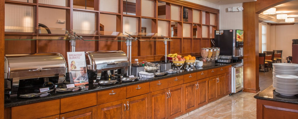 Dulles Airport Hotel Breakfast Bar