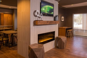 Reston Hotel Fireplace