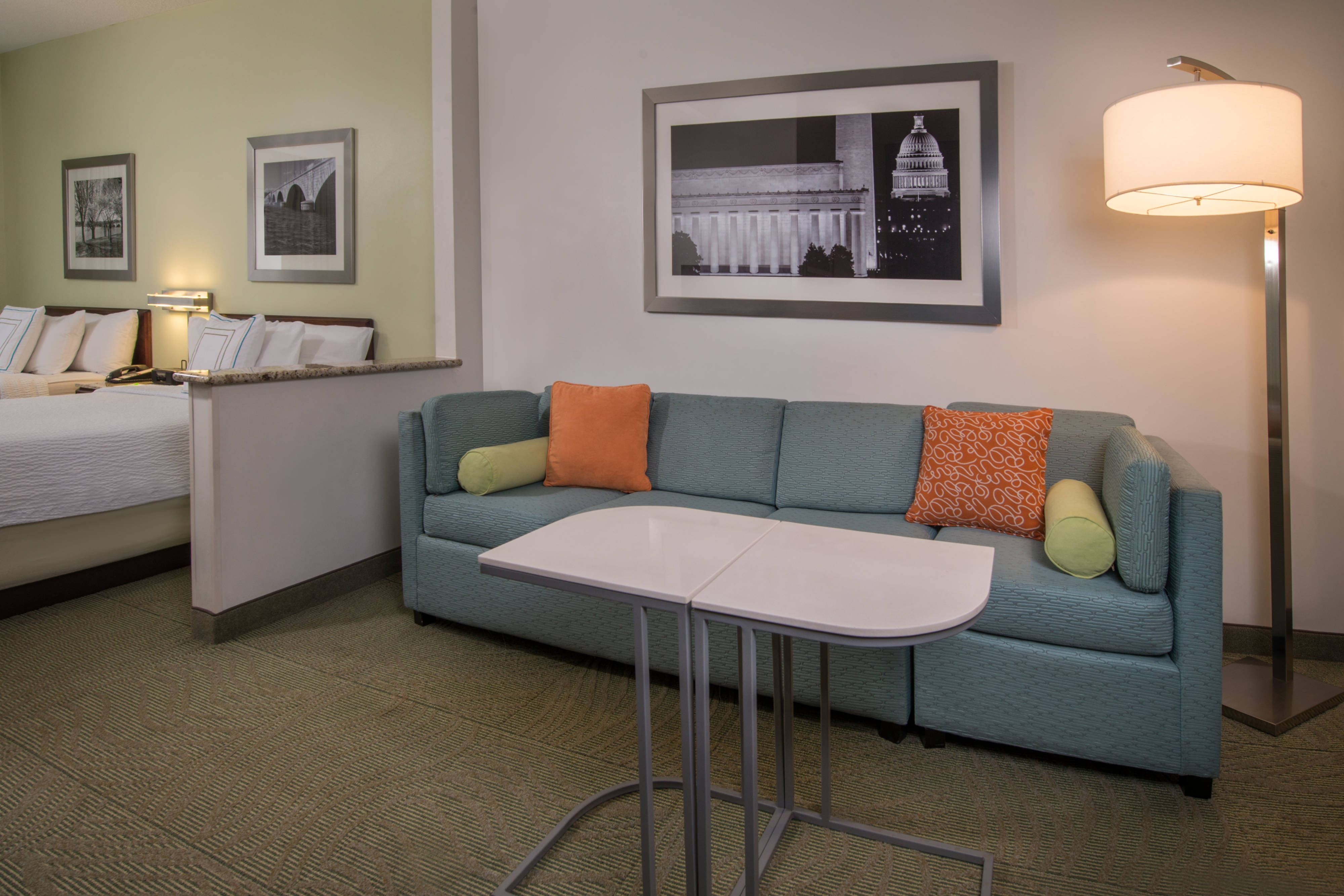 SpringHill Suites Reston Living Room