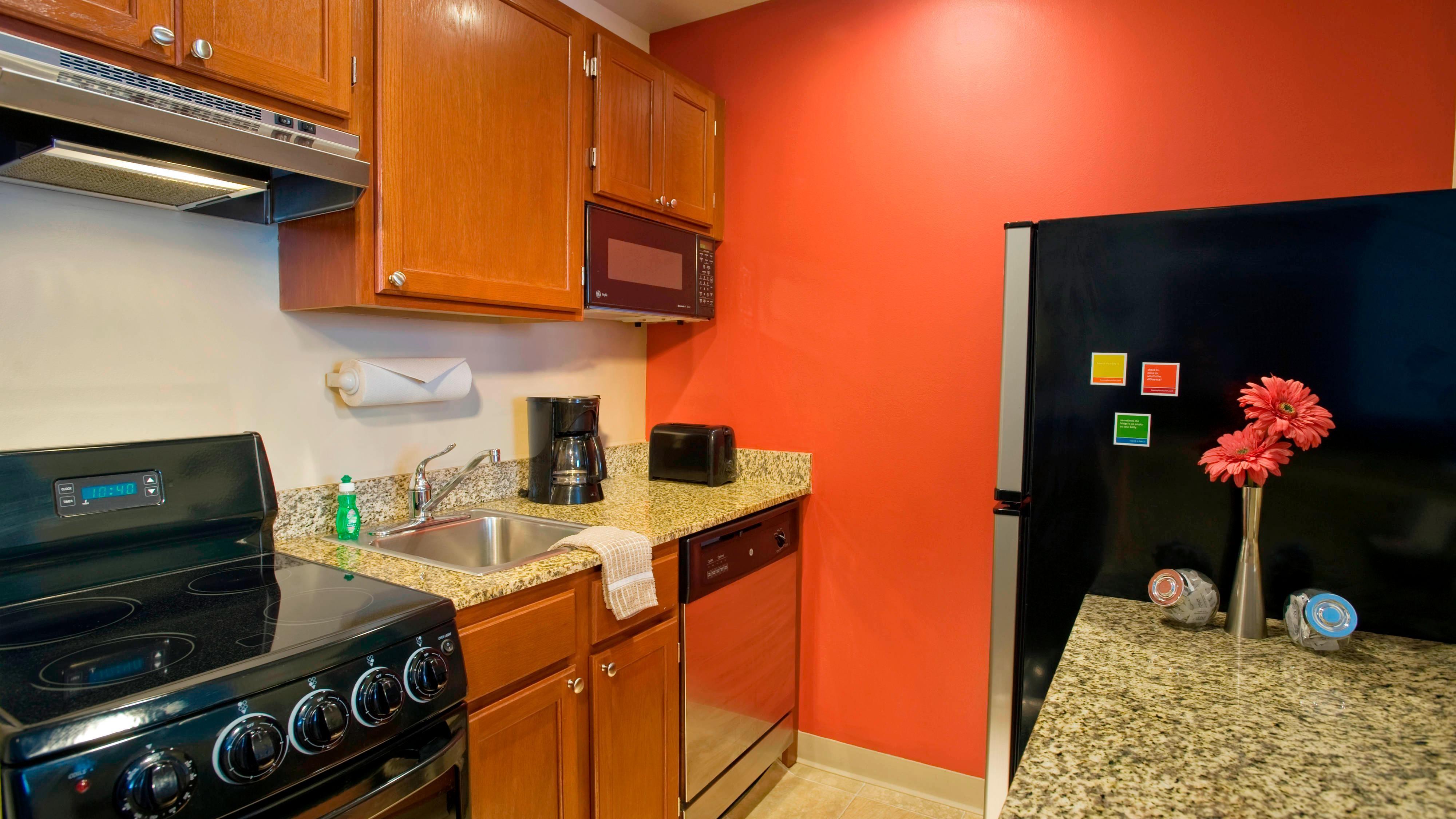 Küche in Dulles Flughafenhotel