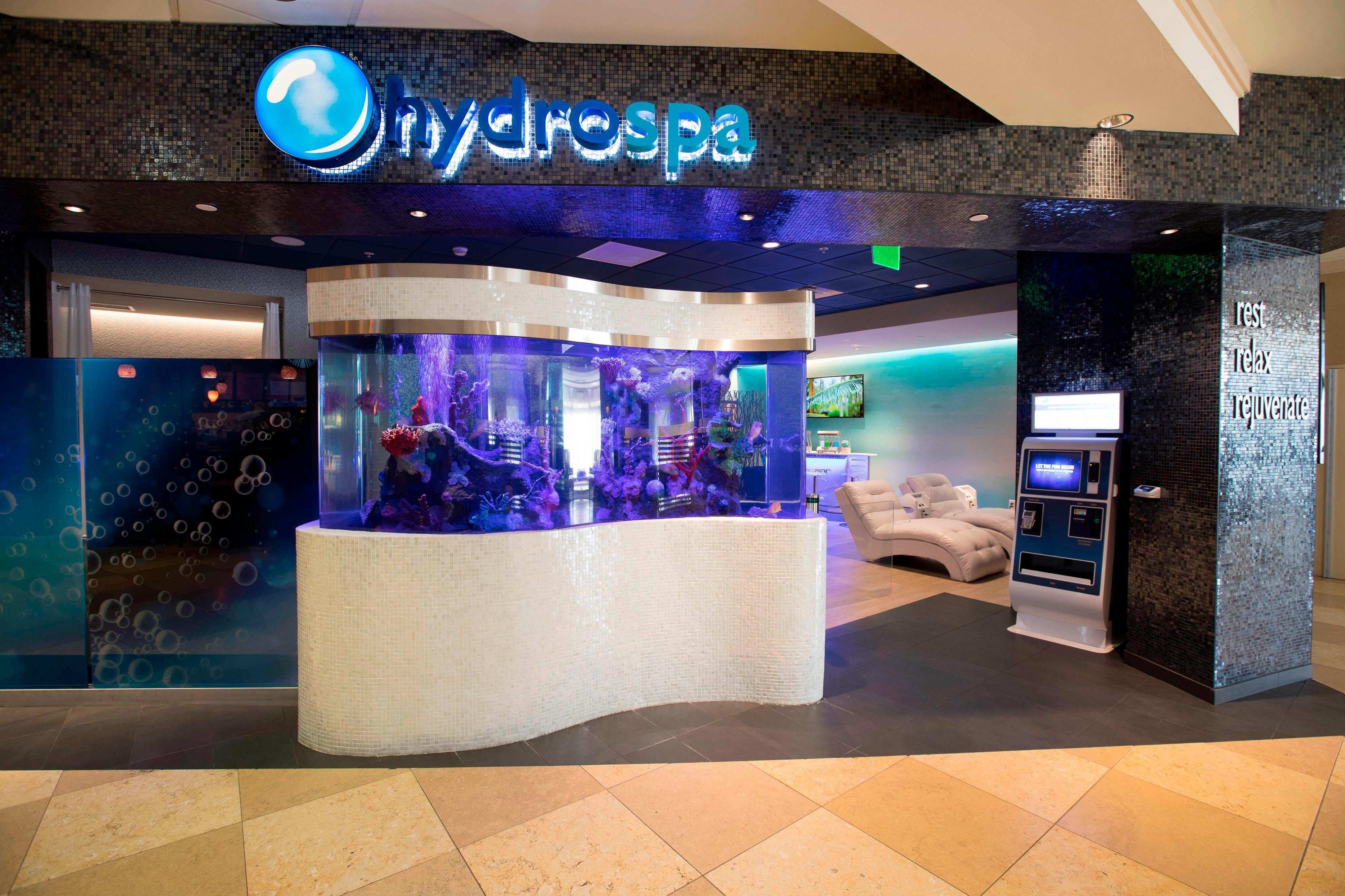 HydroSpa Aquarium Entrance