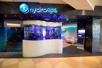 HydroSpa Aquarium Entrance