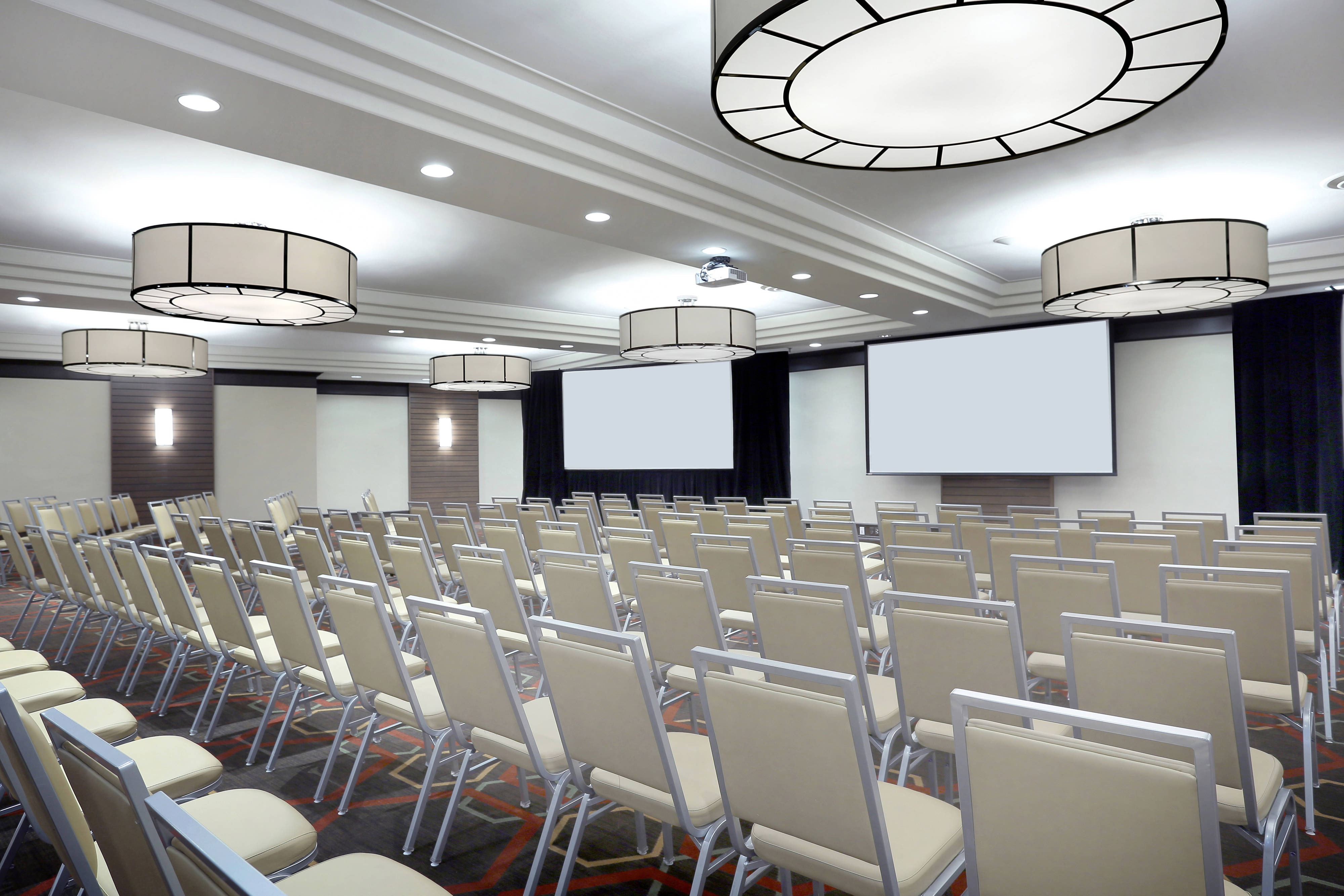 Theatre-Style Meeting set-up