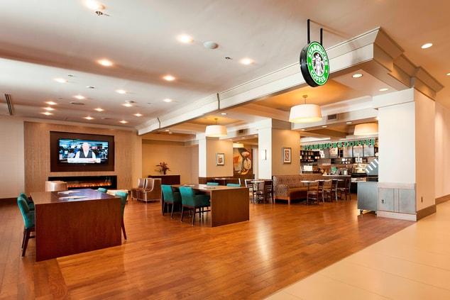 Starbucks in Niagara Falls hotel