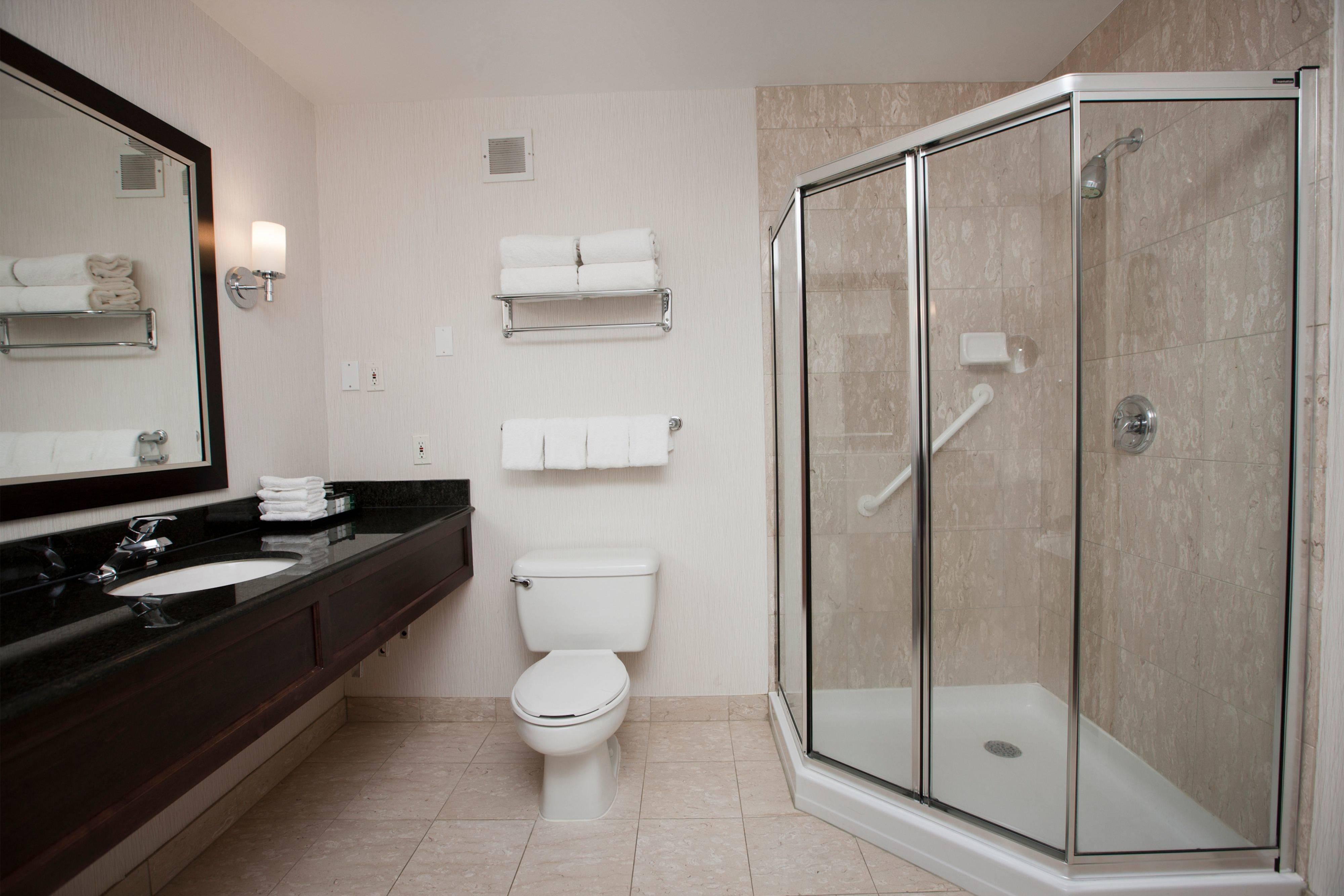 Двухуровневый люкс– ванная комната