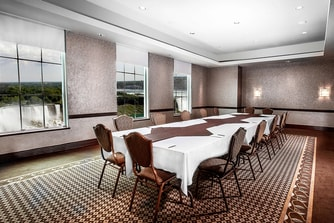 Upper FallsView Room Boardroom Set Up