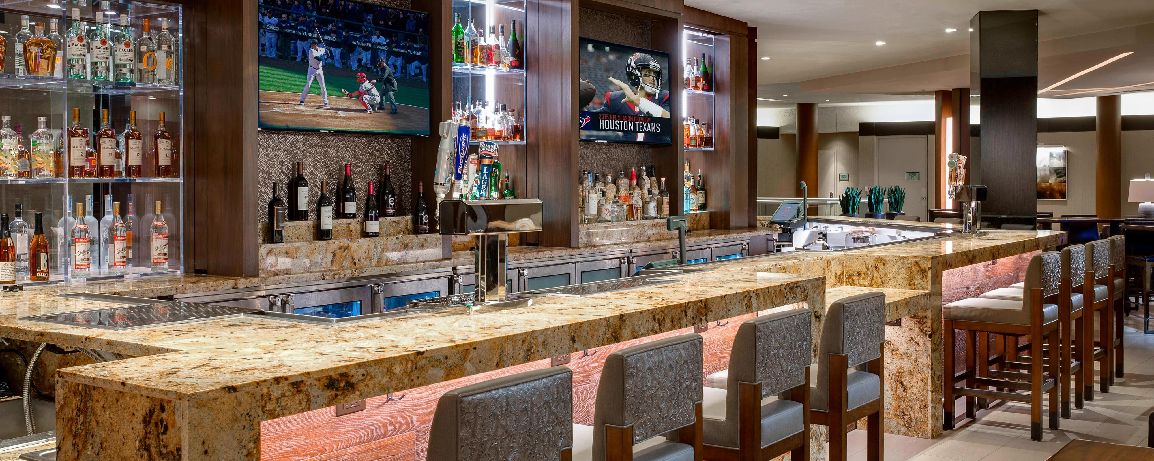 Houston Airport Restaurant Houston Airport Marriott At