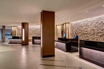 IAH Hotel Front Desk