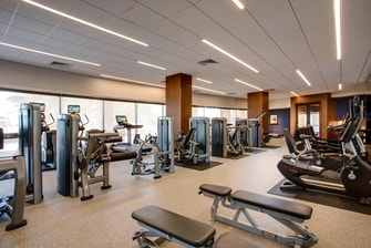 Fitness Center in Houston Hotel