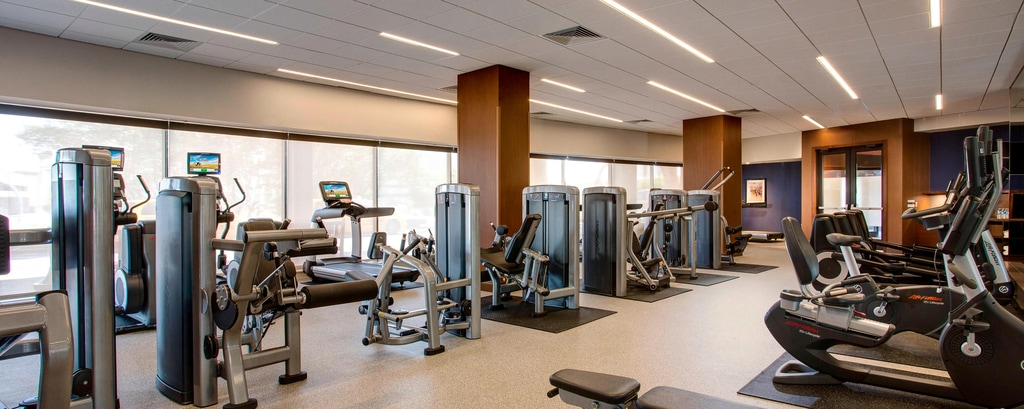 Fitnesscenter in Hotel in Houston