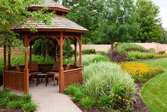 Outdoor beauty in the Gazebo