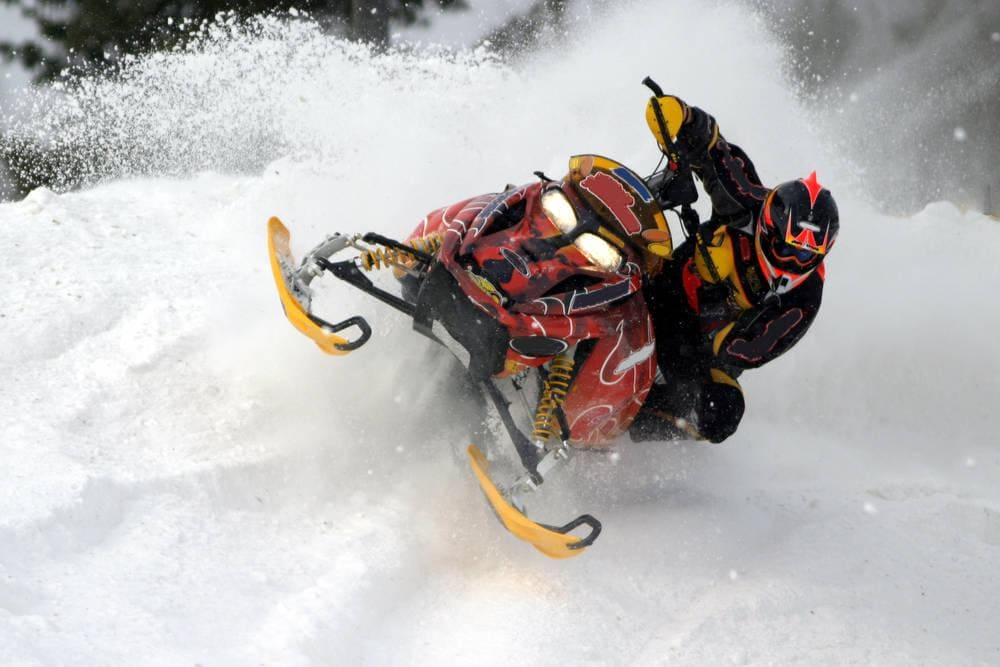 Island Park Snowmobiling