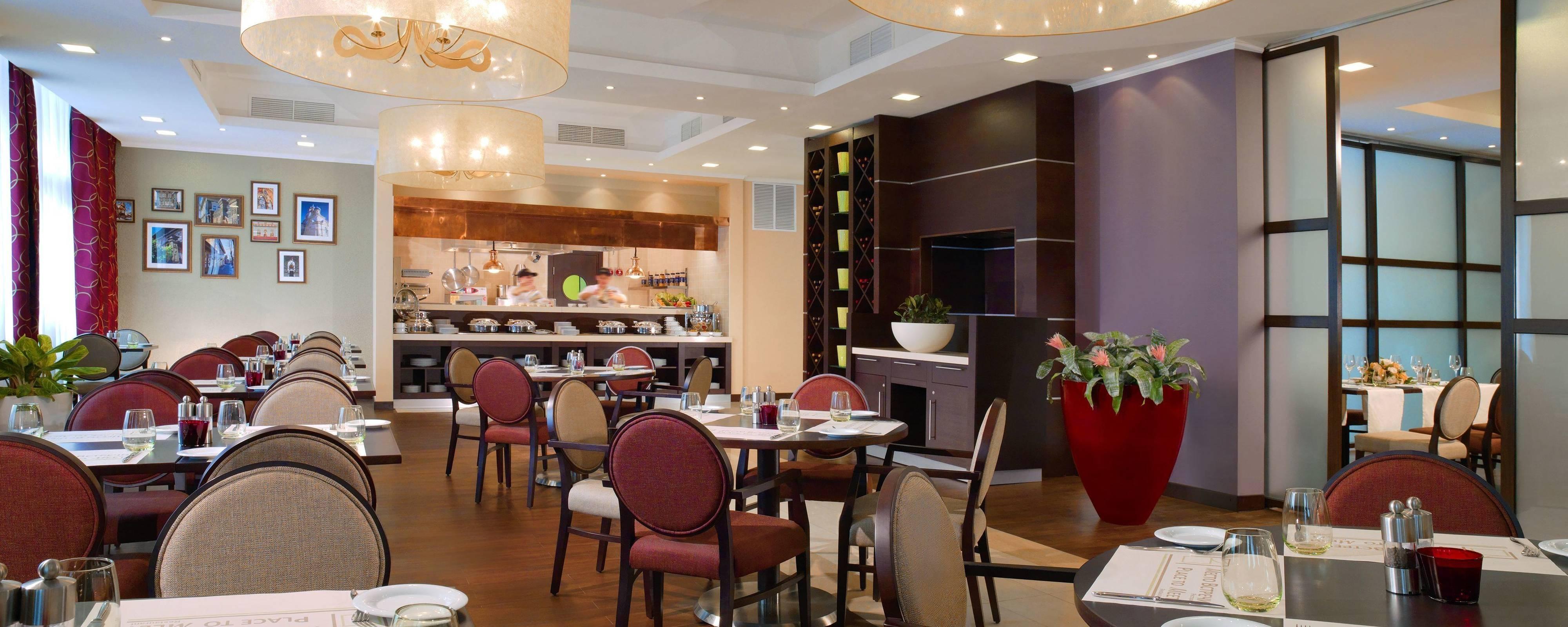 Ресторан Mesto Vstrechi в отеле Courtyard (Иркутск)